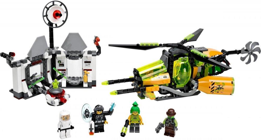 LEGO Agents Toxikitovo toxické rozpuštění