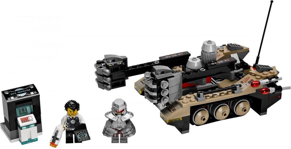 LEGO Agents Otřesy na trati